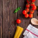 メレンゲの気持ち落合務シェフレシピ トマトパスタ&豚肉のタリアータ